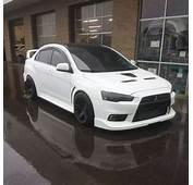 Mitsubishi Evo ️ White Is Definitely My Color Love This