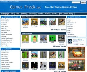 gamesfreaknet car games  racing games  games