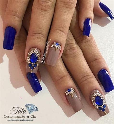 imagenes de uñas decoradas instagram маникюр со стразами камнями 2018 40 модных фото