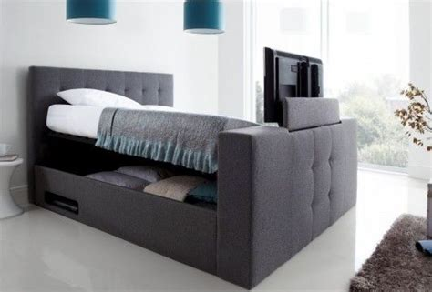 Tv Ottoman Bed Upholstered Ottoman Tv Bed Luxurious And Contemporary This Bed Is Designed To Suit All