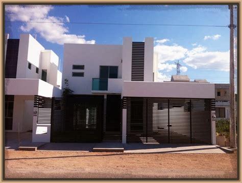 imagenes de bardas minimalistas frente de casas modernas con rejas archivos modernas