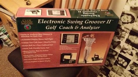 electronic golf swing analyzer electronic swing groover ii golf analyzer for sale in
