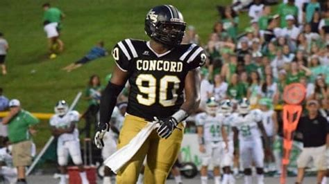nc hs football recruiters covet concord defensive tackle