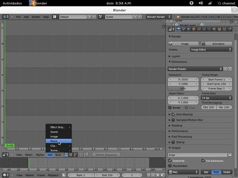 tutorial blender mac blender tutorial convertir videos en imagenes linux y