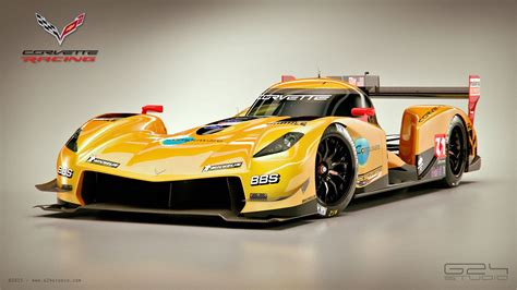 corvette le mans corvette lmp1 racer rendered gtspirit