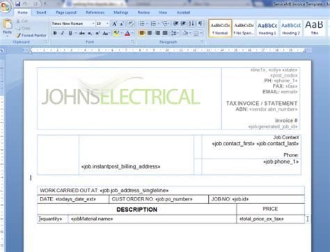 How To Download A Template And Make Minor Field Changes Servicem8 Help Servicem8 Form Templates