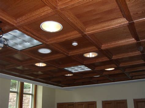 Suspended Wood Ceiling Classic Coffers Suspended Wood Ceiling Historic Timber