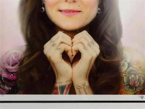 beautiesmoothie kate middleton s tattoo kate middleton tattoo jj adams signed limited edition kate
