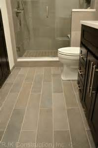 Plank Bathroom Floor Tile Ideas