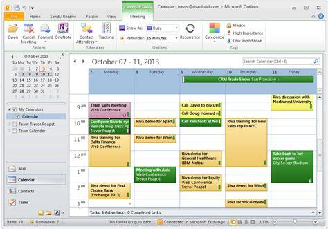 riva crm integration outlook 2010 for windows