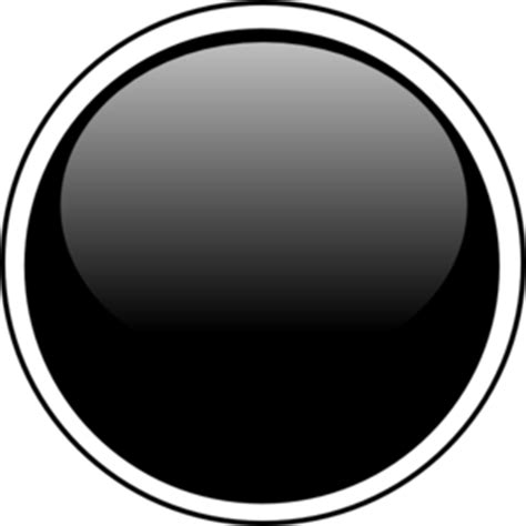 Free Online Architecture Design For Home by Glossy Black Circle Button Clip Art At Clker Com Vector
