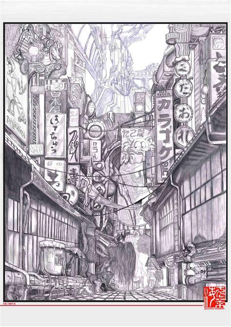 Decor And Home by Portfolio Josselin Clairet 187 Dessin Tokyo