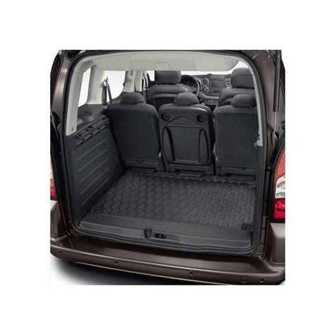 peugeot partner mats luggage compartment mat rubber peugeot partner tepee b9