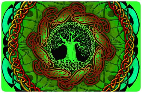 Celtic Tree Of Life Wallpaper Wallpapersafari Celtic Tree Of Images