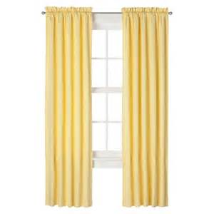 Light Yellow Curtains Eclipse Light Blocking Miley Thermaback Curtain Target
