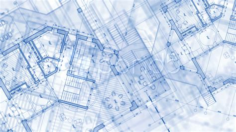 architectural blueprints architecture blueprint plan stock video 661457 hd stock