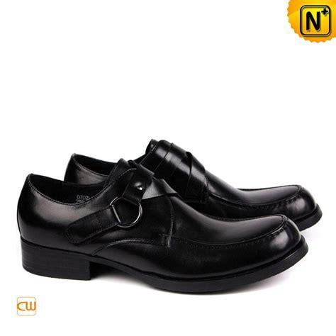 designer black leather dress shoes for cw763085