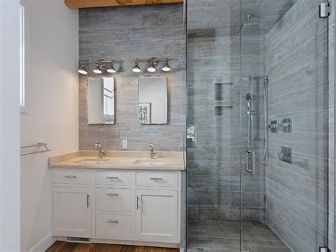 bathtub designs wood look tile bathroom shower stall wood