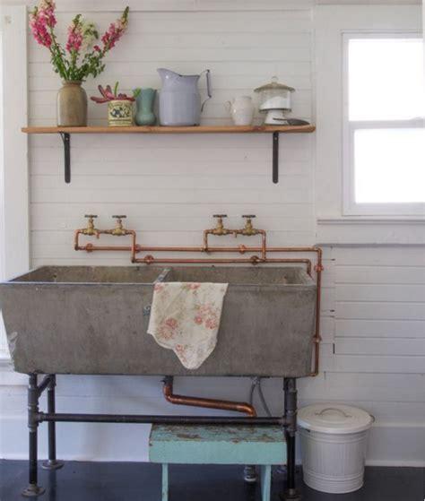 lavelli in pietra lavica i lavelli della cucina in pietra per un angolo cottura shabby