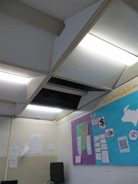 ceiling tiles collapsing in one ontario school fix our