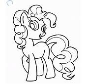 Pinkie Pie Coloring Page  AZ Pages