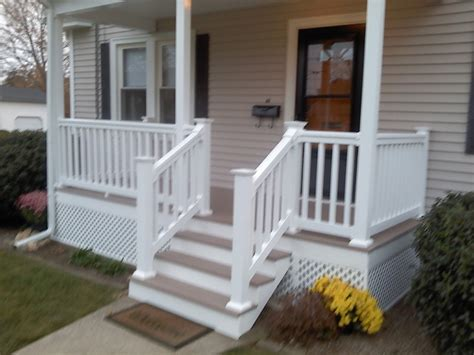 Front Porch Decking front porch and deck traditional porch providence by knm construction