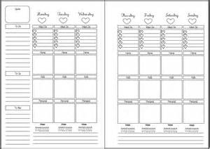 a5 calendar template 5 best images of free printable monthly planners a5 free