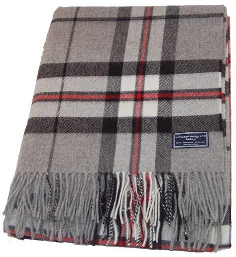 Lambswool Rugs by Grey Thomson Tartan Lambswool Travel Rug