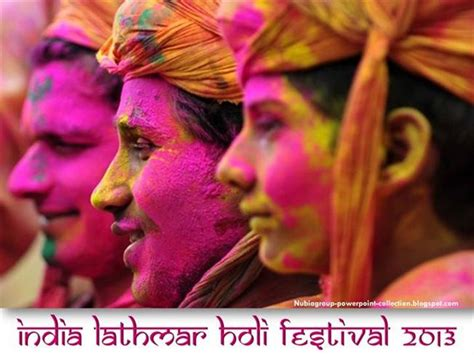 presentation templates for holi india lathmar holi festival 2013 authorstream