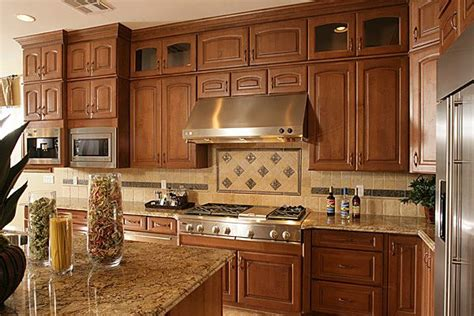 kitchen backsplash ideas  oak cabinets    kitchen backsplash  oak cabinets