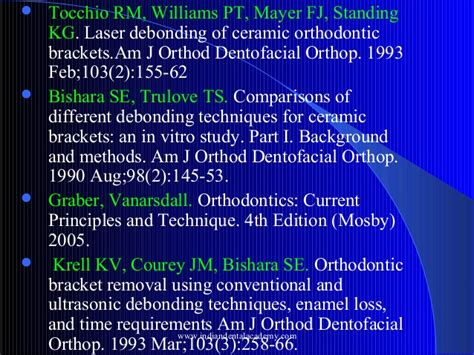 Cd E Book Orthodontics Principles And Practice Dental Update debonding techniques and enamel fracture patterns certified fixed or