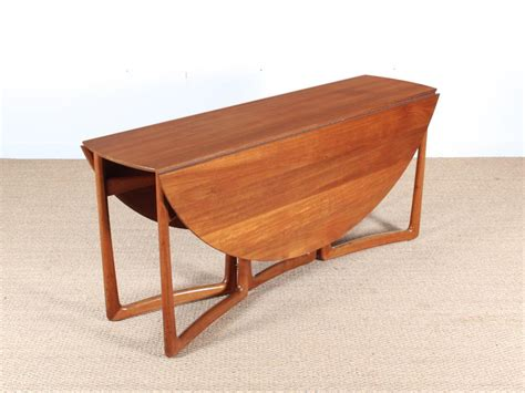 mid century modern folding table mid century modern teak folding dining table by hvidt and