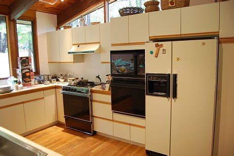 Kitchen Cabinets Formica Gallery For Gt Painting Laminate Cabinets Before And After