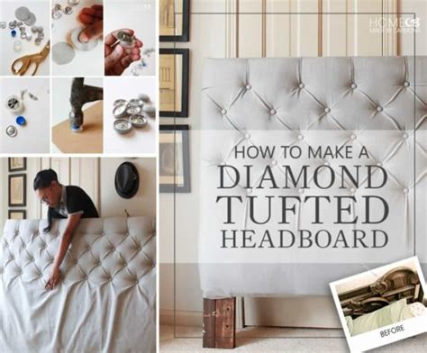 how to make a diamond tufted headboard how to diamond button tuft the whoot