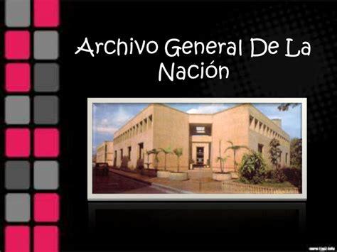 archivo general de la nacion archivo general de la archivo general de la nacion