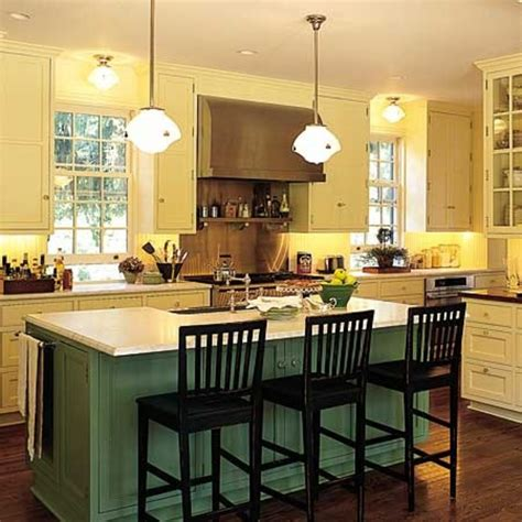 green kitchen island kitchen island ideas how to make a great kitchen island 187 inoutinterior
