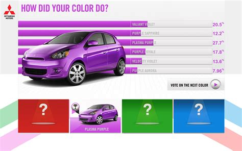Mirage Color 2014 mitsubishi mirage paint color naming contest purple results photo 4