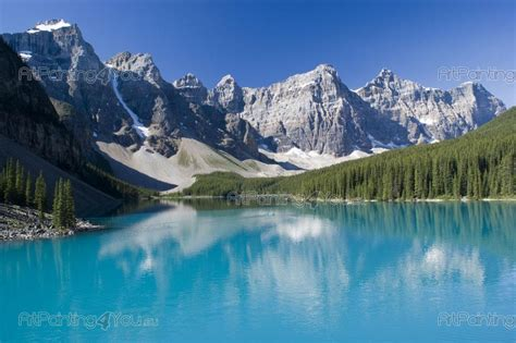 Wall Art Decals For Nursery by Moraine Lake Canada Wall Murals Amp Posters Mcp1026en