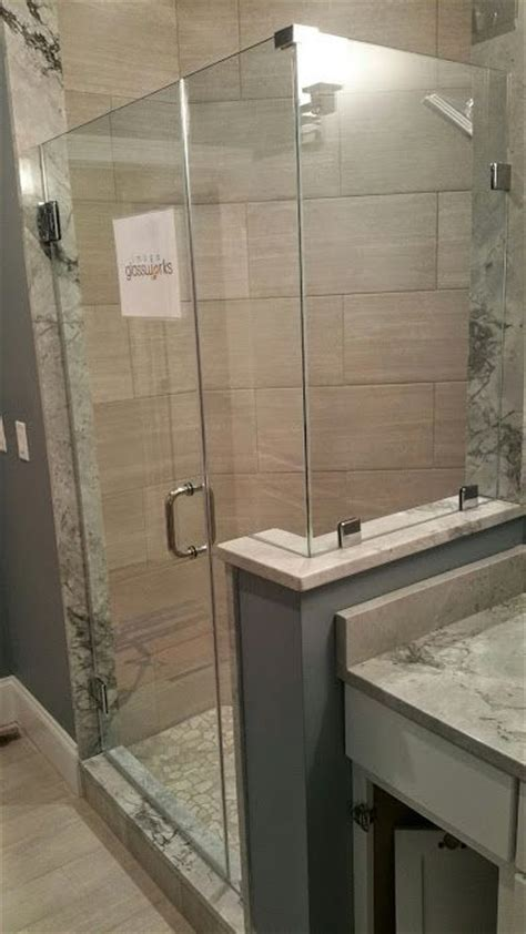 how to install a swinging shower door 109 best images about frameless shower doors swinging