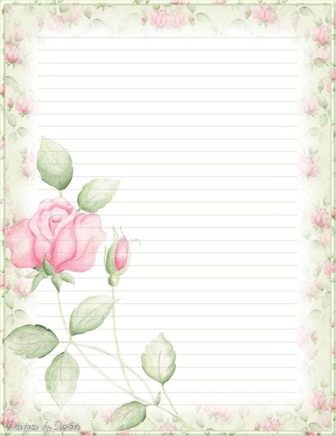 printable stationary with roses 302 best stationery borders for adults images on pinterest