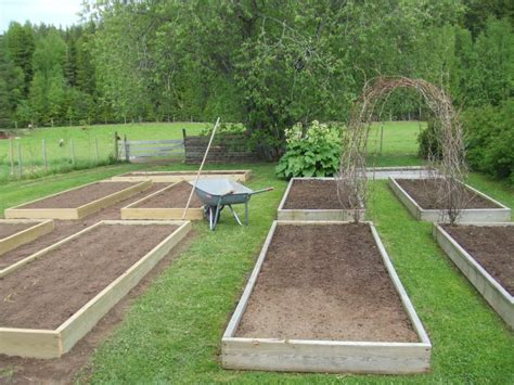 Raised Bed Garden Layout Living The Land Robertson Roots