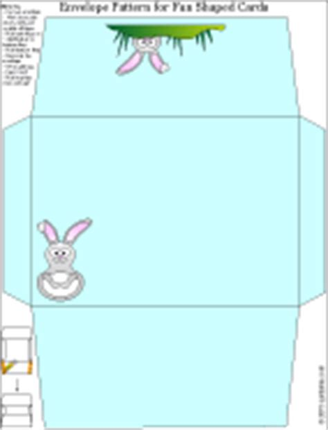 printable easter envelope bunny chick and flower envelope patterns fun shaped
