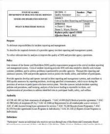 critical incident review template critical incident report template 100 original papers