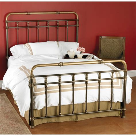 king iron bed king iron beds metal headboards humble abode also