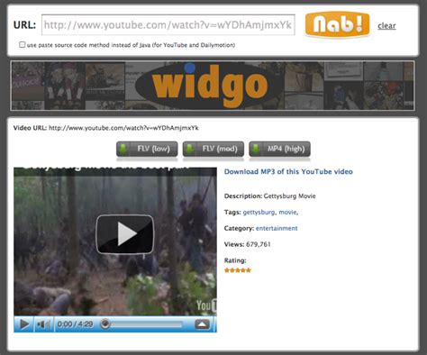 download youtube history clipnabber download youtube videos dailymotion vimeo and