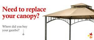 Best Place To Buy A Canopy Gazebo Replacement Canopy Top And Replacement Tops Canada