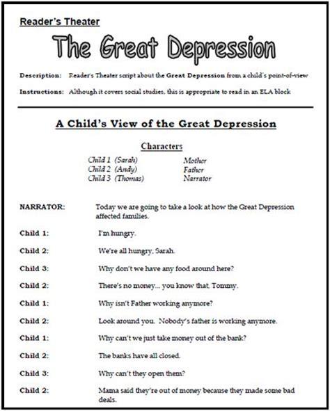 Great Depression Worksheet by Great Depression Worksheets Resultinfos