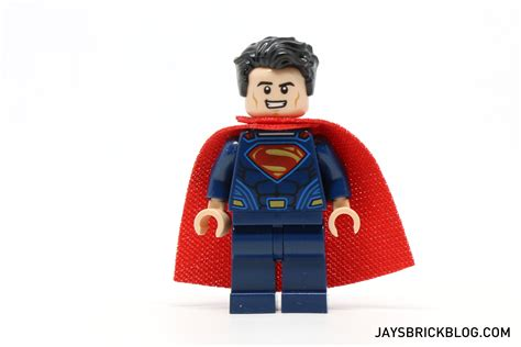 Lego Original Minifigure Superman Of Steel review lego 76044 clash of the heroes