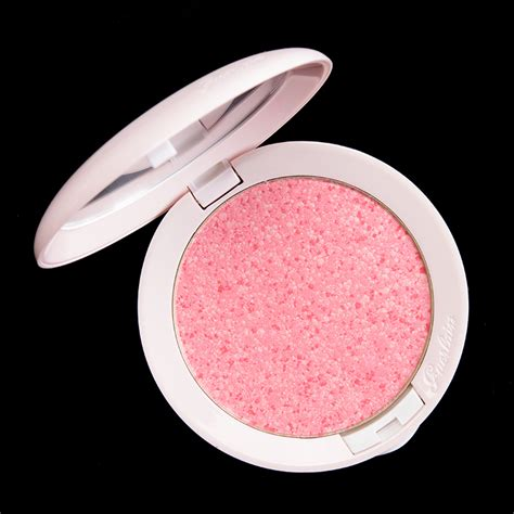 Guerlain Meteorites Happy Glow Blush On guerlain happy glow meteorites blush review photos swatches
