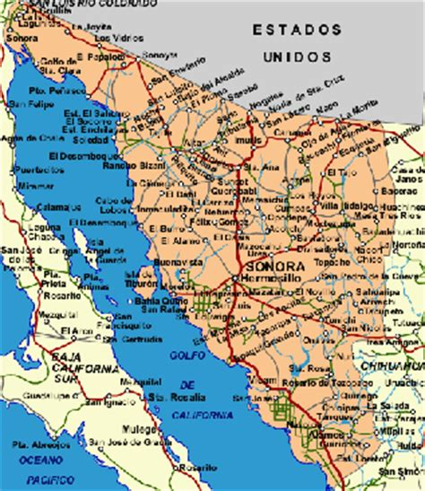 mapa de sonora mexico mapa de sonora related keywords mapa de sonora long tail